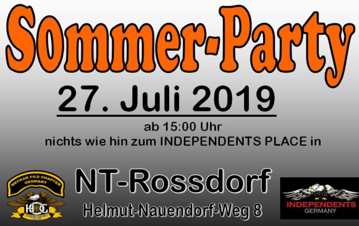 Sommer Party 2019